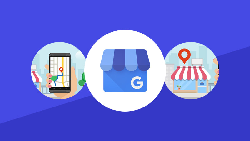 A Picture Of Illustration With Three Circles Showing How Google My Business Can Work For You. How The JMH Group Will Make Google Work For You